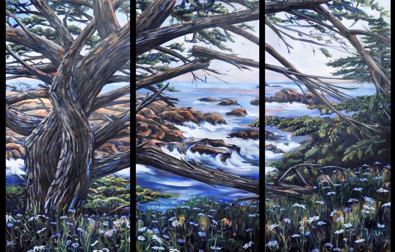 Point Lobos Triptych